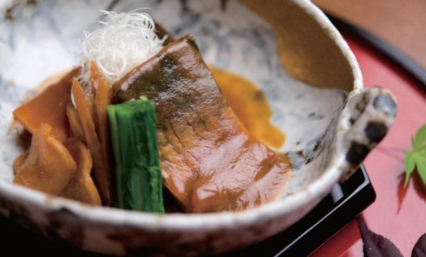 mackerel simmered in miso