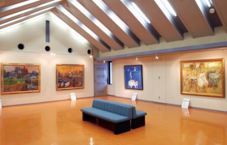 2階絵画展示室