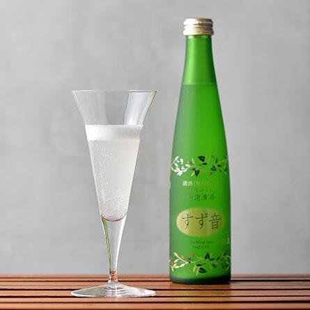 一ノ蔵 発泡清酒 すず音-2