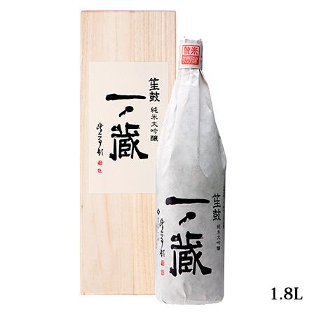 一ノ蔵純米大吟醸笙鼓1.8L